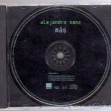 CDs de Música: CD - ALEJANDRO SANZ - MÁS. Lote 13221503