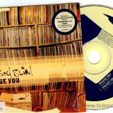 CDs de Música: FATBOY SLIM * PRAISE YOU *CD SINGLE * MADE IN AUSTRIA !!! * ULTRARARO !!. Lote 110419706