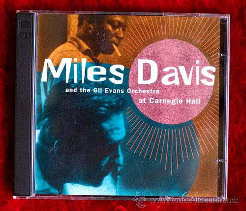 MILES DAVIS AND THE GIL EVANS ORCHESTRA AT THE CARNEGIE HALL (Música - CD's Jazz, Blues, Soul y Gospel)