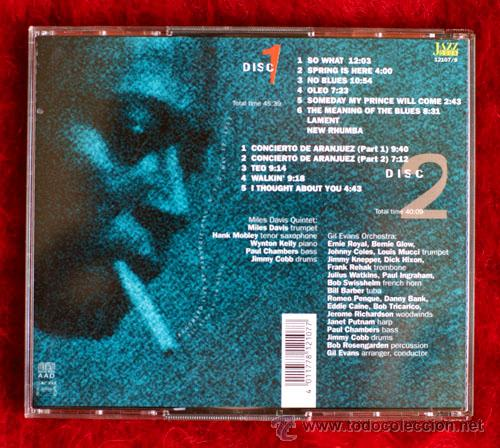 CDs de Música: MILES DAVIS AND THE GIL EVANS ORCHESTRA AT THE CARNEGIE HALL - Foto 2 - 13239943