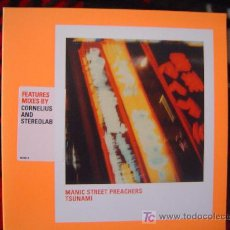 CDs de Música: MANIC STREET PREACHERS - TSUNAMI 1999 CD SINGLE (3 TEMAS) IMPORT ENGLAND. Lote 23154691