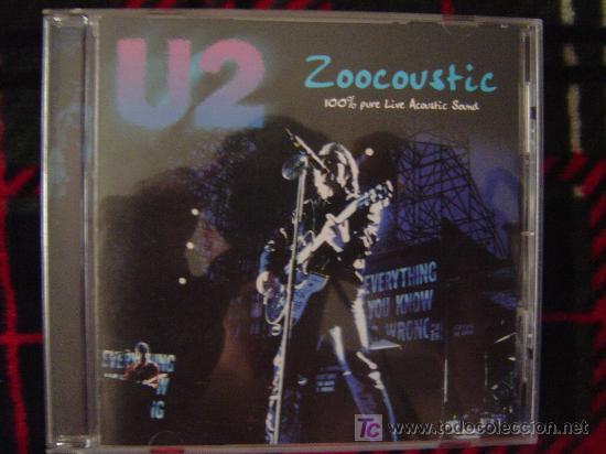 U2 - ZOOCOUSTIC 100% PURE LIVE ACOUSTIC SOUND (WOLRD TOUR ZOO TV)