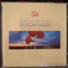 CDs de Música: DEPECHE MODE - MUSIC FOR THE MASSES 1987. Lote 25823682