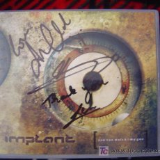 CDs de Música: IMPLANT - YOU CAN WATCH/MY GUN (FIRMADO POR ANNE CLARK Y LA BANDA BELGA). Lote 25823684