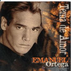 CDs de Música - EMANUEL ORTEGA / Tema de amor (CD Single 1997) - 13329113