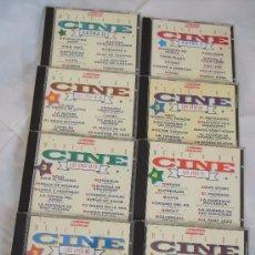 CDs de Música: MÚSICA DE CINE - 8 CD - LOS AÑOS 30/40 + LOS 40/50 + LOS 60 + LOS 70 + LOS 80 + LOS 90 + 2 EXTRAS. Lote 24518715