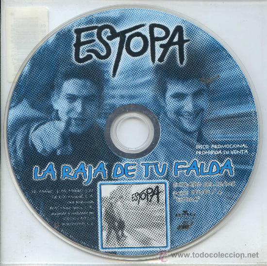 ESTOPA / LA RAJA DE TU FALDA (CD SINGLE 1999) (Música - CD's Pop)