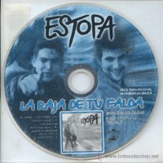 CDs de Música: ESTOPA / LA RAJA DE TU FALDA (CD SINGLE 1999). Lote 13345509