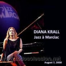 CDs de Música: DIANA KRALL - JAZZ IN MARCIAC 2008 (CD). Lote 35765775