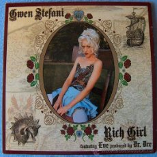 CDs de Música: GWEN STEFANI - CD SINGLE - RICH GIRL - PROMO. Lote 13380652
