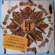 CDs de Música: GWEN STEFANI - CD SINGLE - WHAT YOU WAITING FOR? -PROMO. Lote 13380673