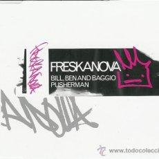 CDs de Música: BILL, BEN & BAGGIO - PUSHERMAN - CD MAXI - MADE IN AUSTRIA - TRIP-HOP-FUNK FREESTYLERS. Lote 25694965