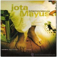 CDs de Música: JOTA MAYÚSCULA – HOMBRE NEGRO SOLTERO – CD SG PROMO SPAIN 2000 – ZONA BRUTA. Lote 109560454