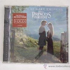 CDs de Música: LA PRINCESA PROMETIDA - BSO MARK KNOPFLER - CD 1997 - REMASTERIZADO - 12 TEMAS. Lote 24327449
