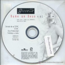 CDs de Música: GISSELLE / DAME UN BESO (CD SINGLE 1998). Lote 13431347