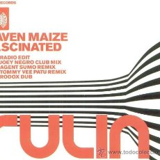 CDs de Música: RAVEN MAIZE - FASCINATED - CD MAXI - TEMAZO HOUSE - NUEVO !!. Lote 26007194
