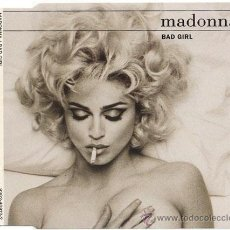 CDs de Música: MADONNA – BAD GIRL – CD SINGLE ORIGINAL GERMANY 1992 – WARNER BROS / SIRE / MAVERICK . Lote 14505600