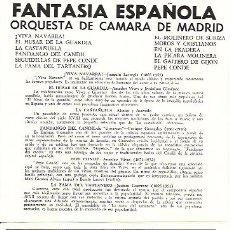 CDs de Música: ORQUESTA DE CAMARA DE MADRID CD SELLO MONTILLA AÑO 1991 EDITADO EN USA.. Lote 13558331
