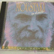 CDs de Música: MOUSTAKI EN DIRECTO - CD 1995 - 15 CANCIONES. Lote 25307619