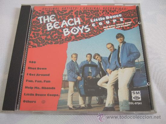 THE BEACH BOYS - CD 1989 - LITTLE DEUCE COUPE AND OTHER CLASSIC SONGS OF DRIVIN' AND DRAGGIN' (Música - CD's Melódica )