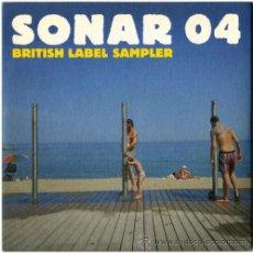CDs de Música: VVAA - FACT: SONAR 04 BRITISH LABEL SAMPLERS - LOTE CD PROMO + BOOKLET UK 2004 - BPI. Lote 13648971