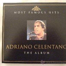 CDs de Música: ADRIANO CELENTANO - THE ALBUM - SUS CANCIONES MAS FAMOSAS - 2 CD'S EN CAJA - 32 CANCIONES. Lote 18413191