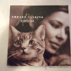 CDs de Música: AMPARO SANDINO - EL AÑO DEL GATO - CD 1999 - 11 CANCIONES - INCLUYE LIBRETO CON LAS LETRAS. Lote 24355336