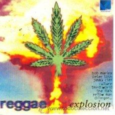 CDs de Música: REGGAE EXPLOSION-BOB MARLEY + PETER TOSH + JIMMY CLIFF + THIRD WORLD... CD ALBUM 1995. Lote 13684807