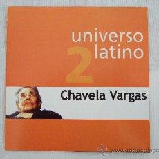CDs de Música: CHAVELA VARGAS - UNIVERSO LATINO - 14 CANCIONES - CD 2001 - LA LLORONA, MACORINA, NOCHE DE RONDA.... Lote 24355332
