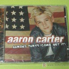 CDs de Música: AARON CARTER AARON'S PARTY (COME GET IT) . CD COMPLETAMENTE NUEVO. PRECINTADO Y A ESTRENAR. Lote 16466800