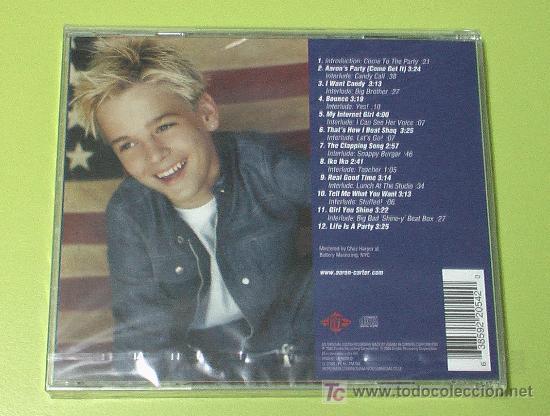 CDs de Música: AARON CARTER AARONS PARTY (COME GET IT) . CD COMPLETAMENTE NUEVO. PRECINTADO Y A ESTRENAR - Foto 2 - 16466800