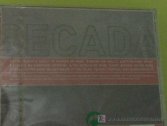 CDs de Música: JON SECADA BETTER PART OF ME . CD COMPLETAMENTE NUEVO. PRECINTADO Y A ESTRENAR - Foto 3 - 16466802