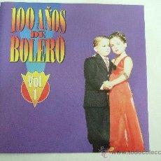 CDs de Música: 100 AÑOS DE BOLERO - VOL. 1- CD 1995 - 18 BOLEROS - LUCHO GATICA ROCIO JURADO MOCEDADES BOLA DE NIEV. Lote 18564789