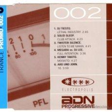 CDs de Música: TRANCE PROMO 002 - CD - ADN PROGRESSIVE - NUEVO - ULTRARARO !!! 6-TRACKS. Lote 26873284