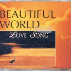 CDs de Música: BEAUTIFUL WORLD / LOVE SONG (CD SINGLE 1994). Lote 13922787