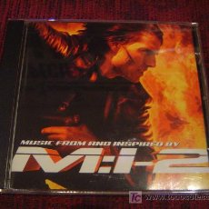 CDs de Música: MISSION:IMPOSIBLE 2 (LIMP BIZKIT-METALLICA-ROB ZOMBIE-FOO FIGHTERS-BRIAN MAY-GODSMACK ETC....). Lote 24443977