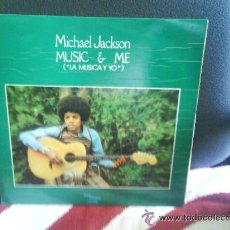 CDs de Música: MICHAEL JACKSON / MUSIC & ME/ LP ESPAÑOL ORIGINAL/ TITULO EN ESPAÑOL. Lote 14310832