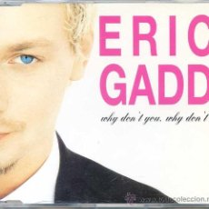CDs de Música: ERIC GADD / WHY DON´T YOU, WHY DON´T I (CD SINGLE 1995). Lote 13952410
