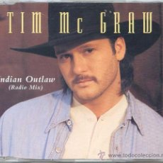 CDs de Música: TIM MC GRAW / INDIAN OUTLAW (CD SINGLE 1995). Lote 14020591