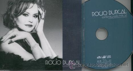 ROCIO DURCAL - SOMBRAS NADA MAS - CD SINGLE RARO DE PROMOCION MEXICANO (Música - CD's Latina)