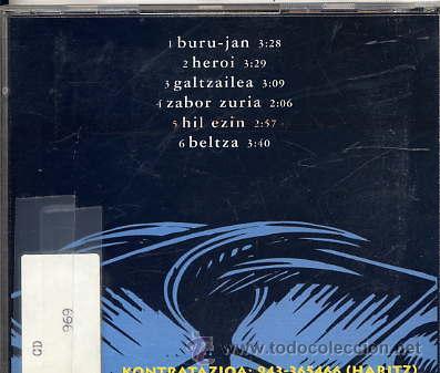 CDs de Música: LARRUA TRUK (CD MAXI 1995) temas ver foto - Foto 2 - 14196962