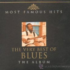 CDs de Música: THE VERY BEST OF BLUES THE ALBUM MOST FAMOUS HITS. Lote 20526590