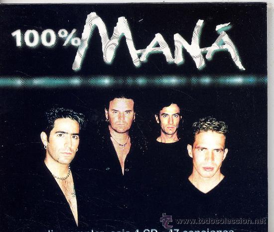 MANA / 100% MANA (CD MAXI WEA 2001) TEMAS VER FOTO (Música - CD's Rock)