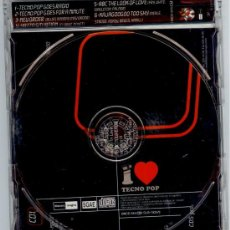 CDs de Música: I LOVE TECNO POP -CD MAXI PROMOCIONAL - 6 TRACKS - NUEVO !! NEW ORDER.... YAZOO...... Lote 26187563