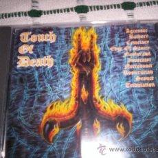 CDs de Música: TOUCH OF DEATH A BLACK MARK COMPILATION - BATHORY, EDGE OF SANITY,…. Lote 27634384
