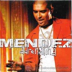 CDs de Música: MENDEZ / ADRENALINA (CD SINGLE 2003). Lote 14276937