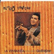 CDs de Música: MICKEY TAVERAS / LA VENTANITA - QUIEREME (CD SINGLE 1997). Lote 14277815