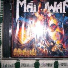CDs de Música: MANOWAR -HELL ON STAGE - 2CD - HEAVY METAL. Lote 27383001
