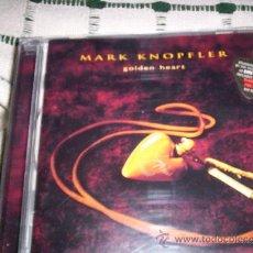 CDs de Música: MARK KNOPFLER - GOLDEN HEART. Lote 23888073