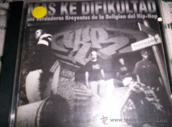 V.K.R. - MAS KE DIFIKULTAD - PRIMERA EDICION - RAP - HIP HOP (Música - CD's Hip hop)
